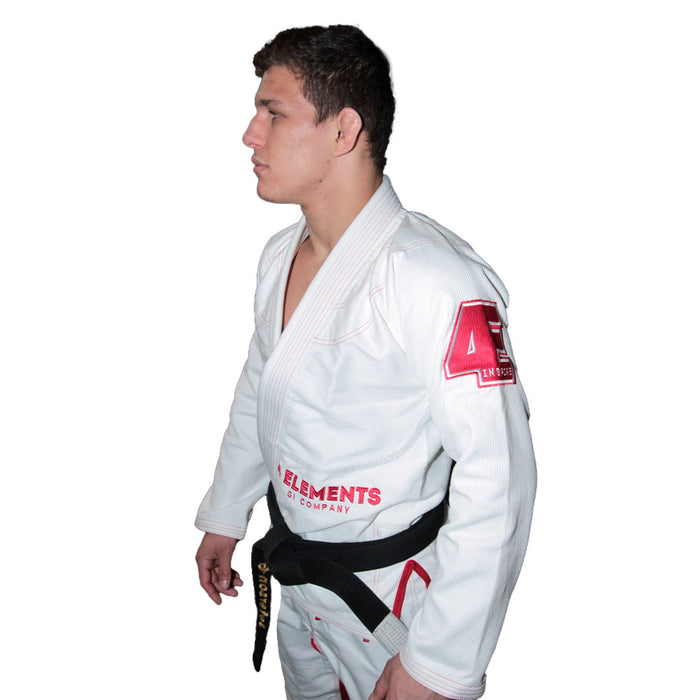 4 Elements Fire Gi White