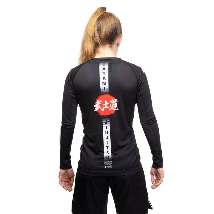 Tatami Ladies Bushido Rashguard Long Sleeve