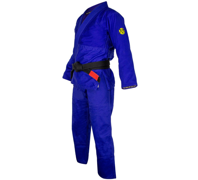 Fuji Xande Ribeiro Classic Performance Gi  blue side left