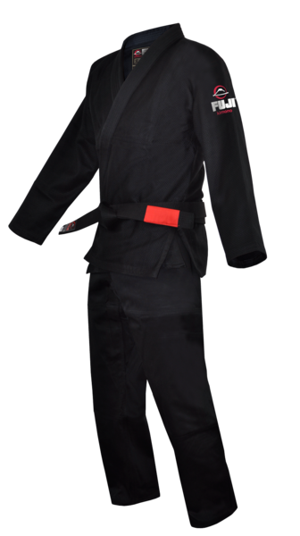 Fuji sports All Around BJJ Gi beginner black side left