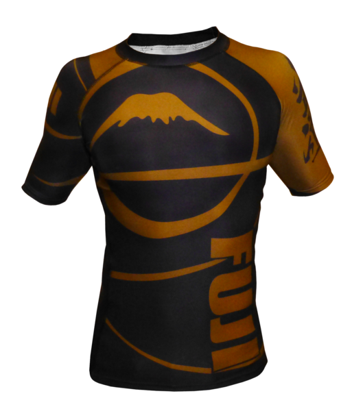 Fuji Sports Freestyle IBJJF Ranked Rashguard Short Sleeve