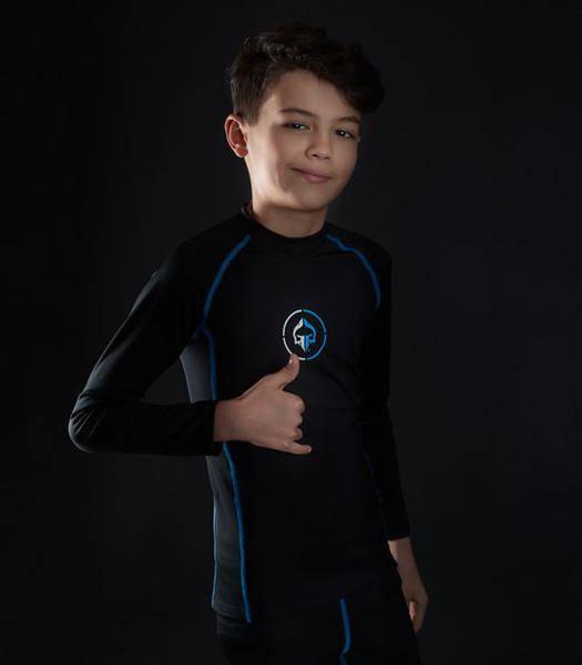 Ground Game Athletic 2.0 Kids Rashguard