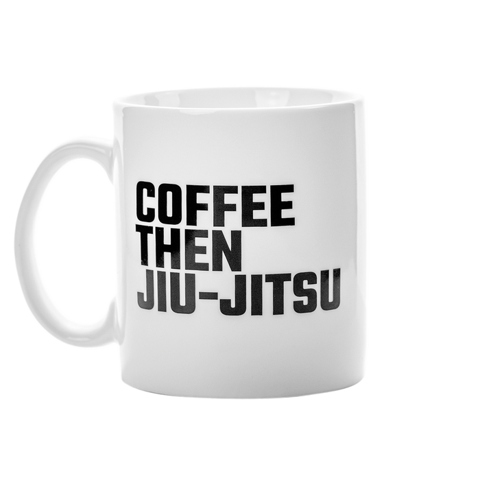 Ground Force Coffee then Jiu Jitsu Mug