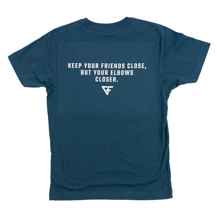 "Ground Force Quote T-shirt ""Keep your friends close"""