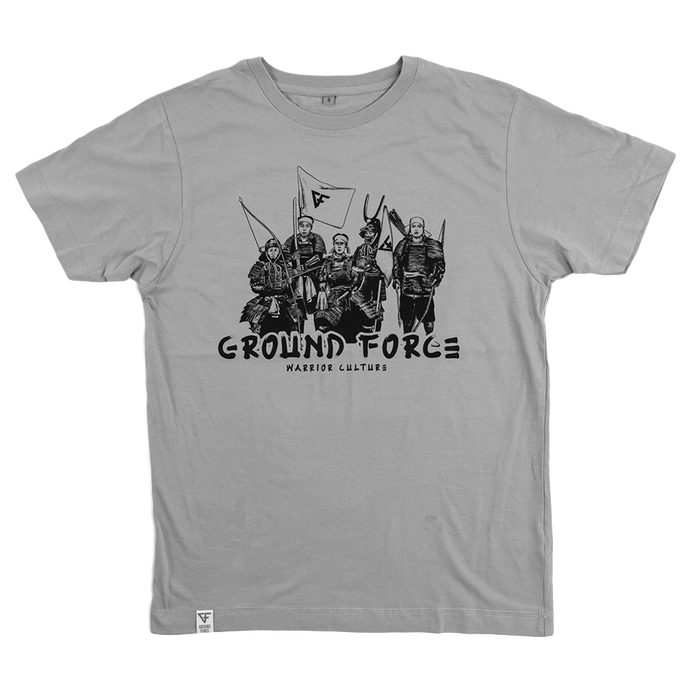 Ground Force Warrior Culture T-shirt Samurai