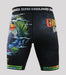 Back view of a Ground Game Carioca Vale Tudo Shorts