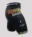Left side view of a Ground Game Carioca Vale Tudo Shorts