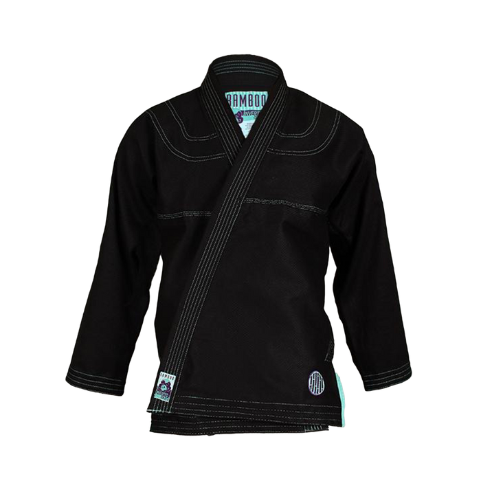 Inverted Gear Bamboo Gi bjj black front jacket