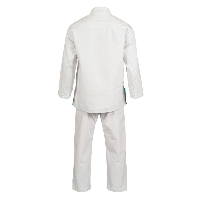 Inverted Gear Bamboo Gi bjj white back complete jacket pants