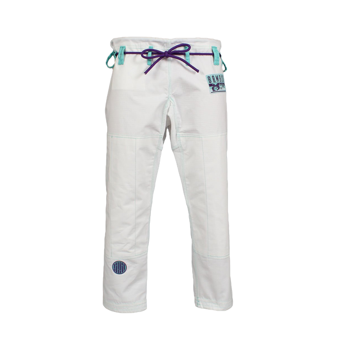 Inverted Gear Bamboo Gi bjj white front pants