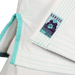 Inverted Gear Bamboo Gi bjj white front jacket logo