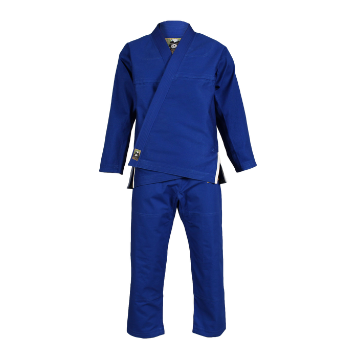Inverted Gear Panda Classic Gi blue front jacket pants complete