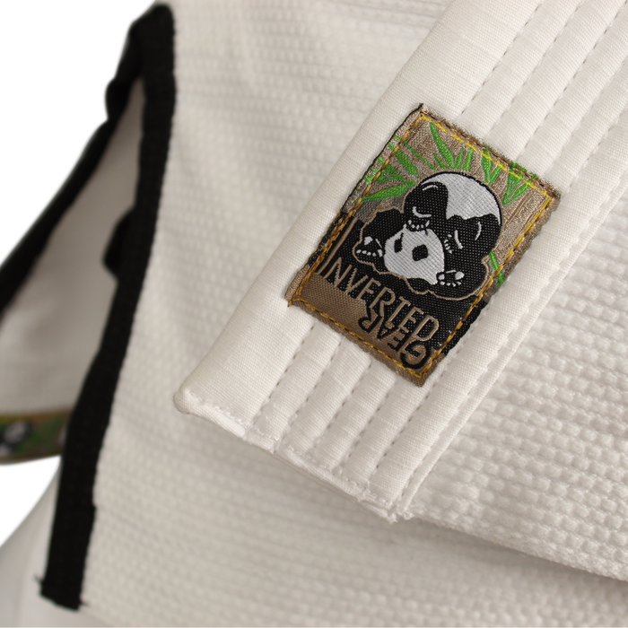 Inverted Gear Panda Classic Gi white jacket front label