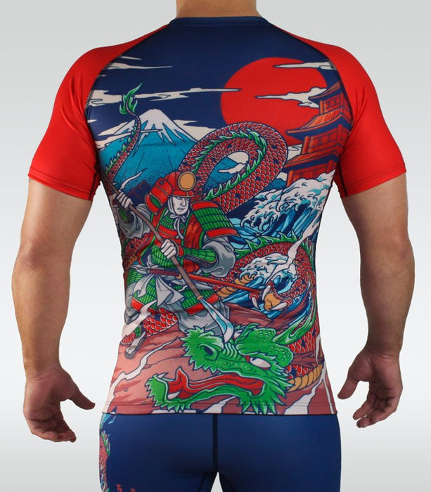Ground Game Tatakai Rashguard Short Sleeve