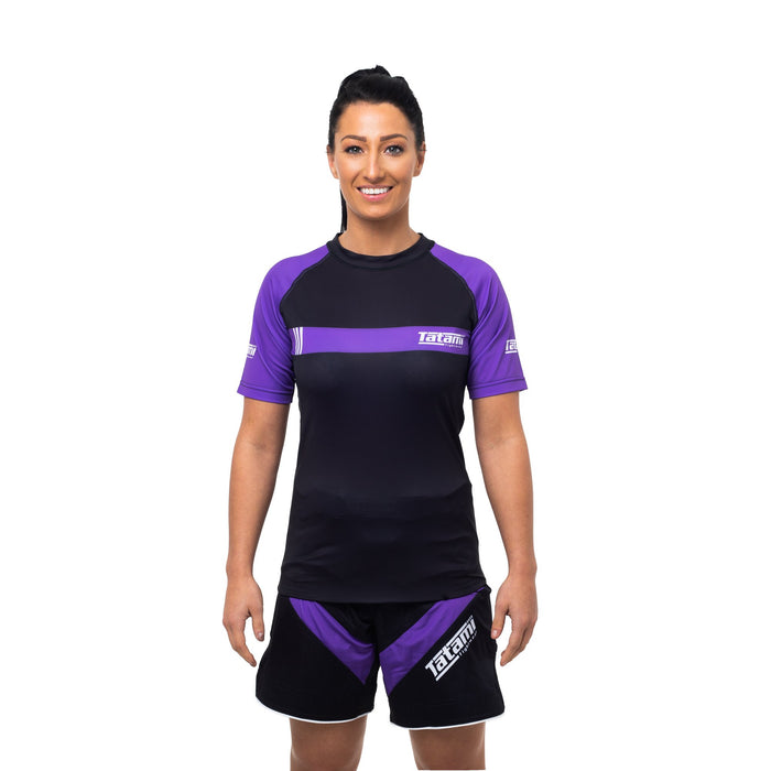 Tatami Ladies IBJJF 2020 Ranked Short Sleeve Rash Guard