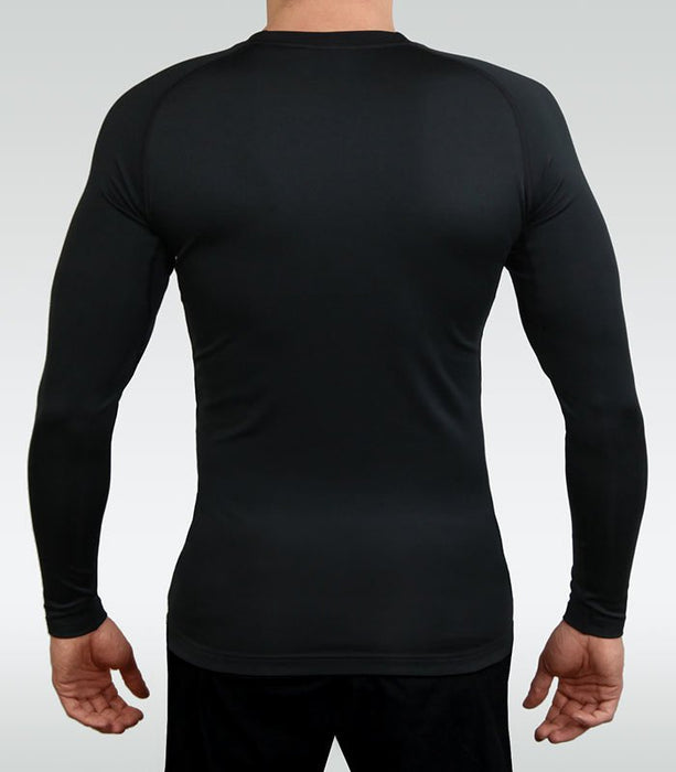 Ground Game Athletic Gold Rashguard Long Sleeve