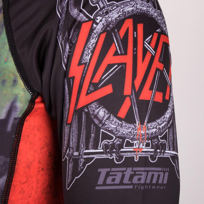 Tatami Slayer Reign In Blood Rash Guard