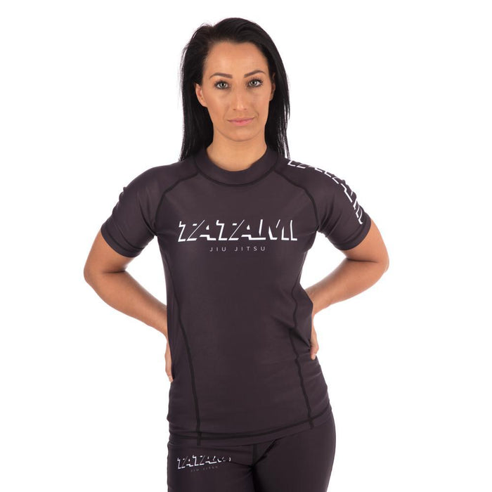 Tatami Ladies Shadow Short Sleeve Rash Guard