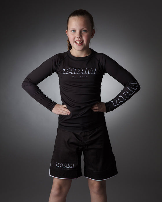 Tatami Kids Shadow Long Sleeve Rash Guard