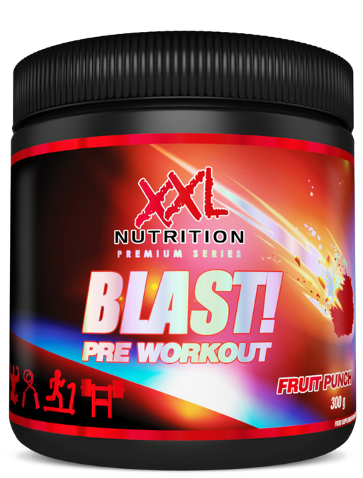 XXL Nutrition Blast! Pre Workout Fruit Punch