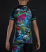 Back view of a Ground Game Carioca Kids Rashguard