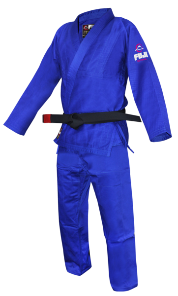Fuji sports All Around BJJ Gi beginner blue side left
