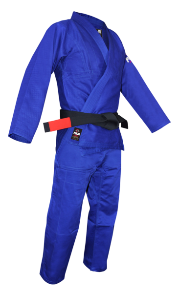 Fuji sports All Around BJJ Gi beginner blue side right