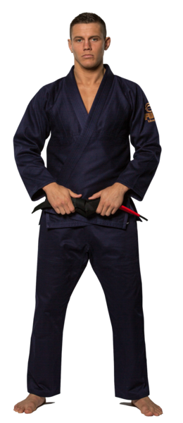 Fuji sports All Around BJJ Gi beginner navy blue front