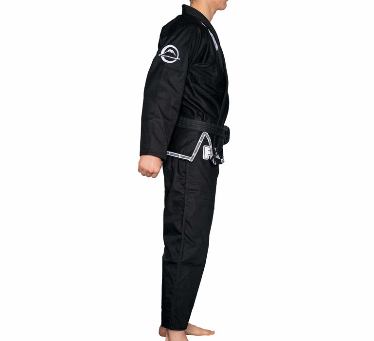 fuji submit everyone bjj gi black side