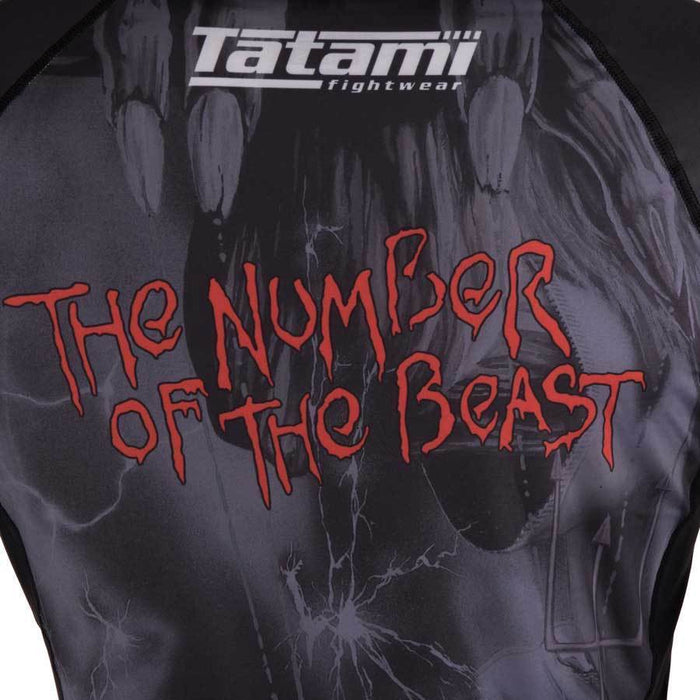 Tatami Ladies Iron Maiden Number of the Beast Rashguard