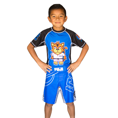 FUJI Sports Inverted Kid's Board Shorts Blue