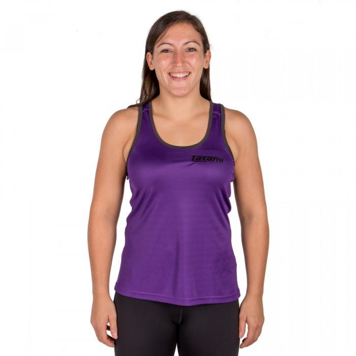 Tatami Ladies Purple Lightweight Panel Vest