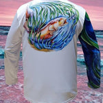 Salty Waters Redfish Performance Fishing Shirt - Long Sleeve - PuroPincheCast&Blast Outfitters