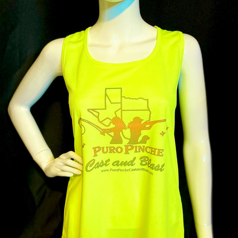 Safety Yellow RacerBack Tank Top