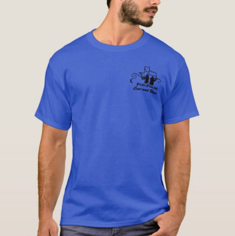 Royal Blue w/ Blk logo