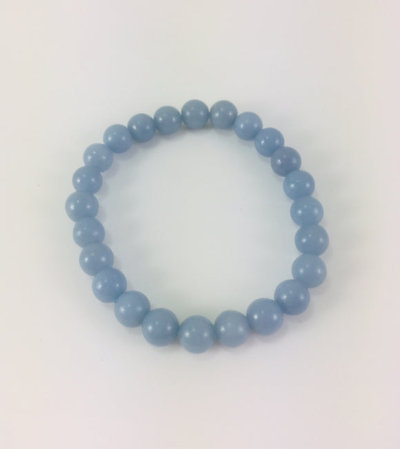 Crystal Bracelet - Angelite - Essential Relaxation