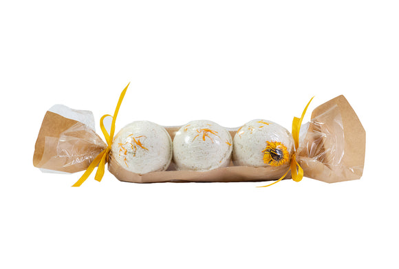 Calendula Bath Bomb three pack