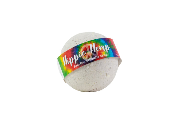Hippie Hemp Bath Bomb - Essential Relaxation