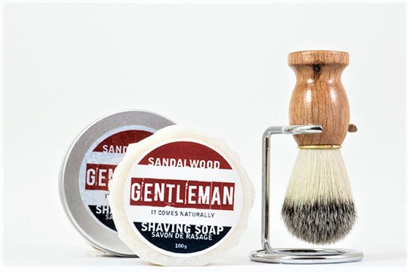 Gentleman's Wet Shave Kit - Essential Relaxation