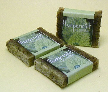 Guest Sized Hempermint Soaps - Essential Relaxation