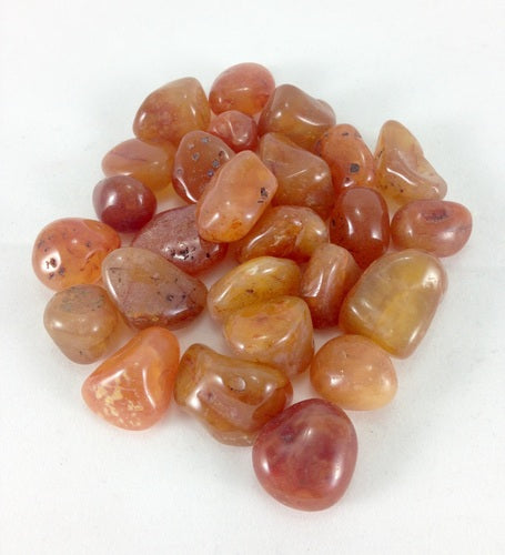 polished carnelian crystal