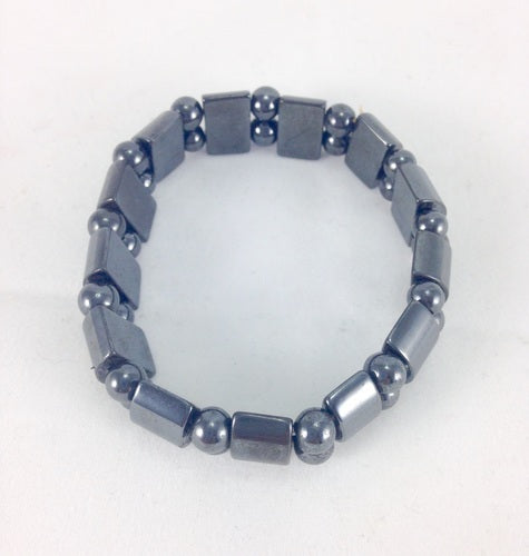Crystal Bracelet - Hematite - Essential Relaxation