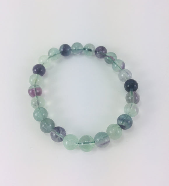 Crystal Bracelet - Fluorite - Essential Relaxation