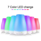 Aromatherapy White 7 LED Colour Diffuser - Essential Relaxation