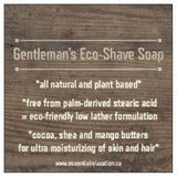 Gentleman's Eco-Shave Soap Refill - Essential Relaxation