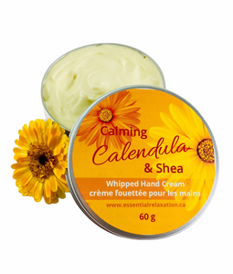 Calming Calendula & Shea Whipped Hand Cream - Essential Relaxation