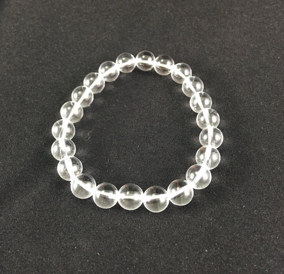 Crystal Bracelet - Quartz, Clear - Essential Relaxation