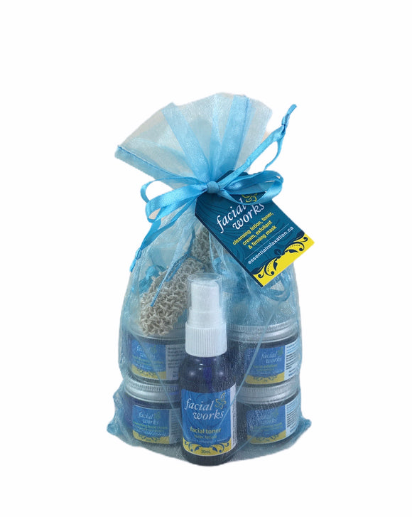 Facial Works Sampler Kit - Essential Relaxation