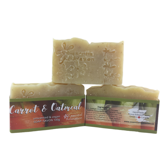 Hand Soap - Carrot & Oatmeal - Essential Relaxation