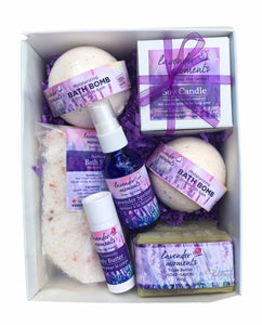 Lavender Moments Bathtime Kit - Essential Relaxation